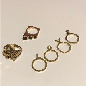 Jewelmint Rings, size 8